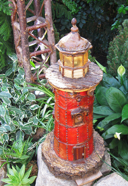 Model Trail Lighthouse, New York Botanical Garden