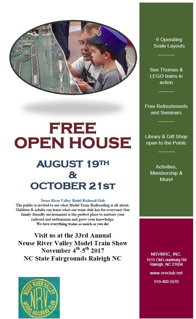 Flyer open house2017 august and october