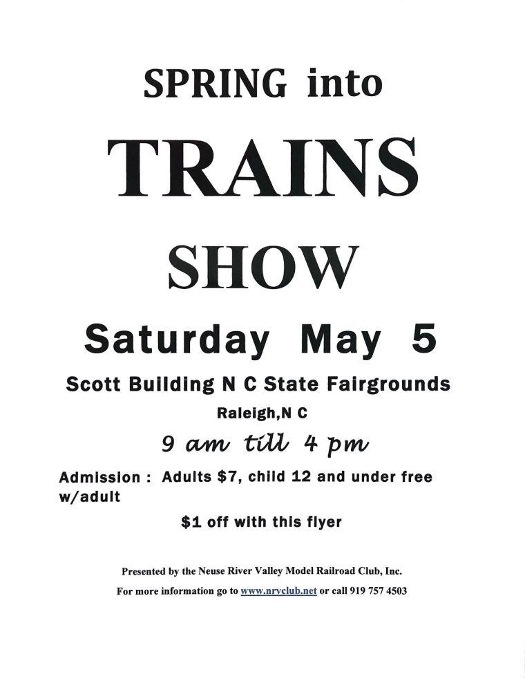 spring into trains show 2018